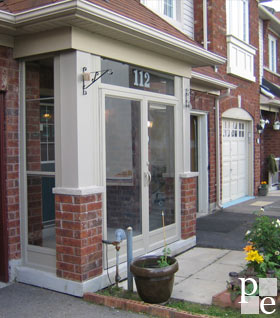 Porch enclosure quote and estimate for residents of for Portico cost estimate