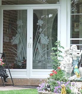 porch enclousers sandblast design